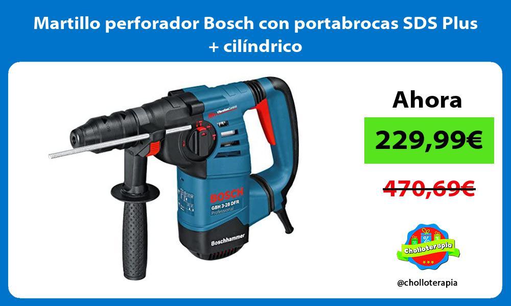 Martillo perforador Bosch con portabrocas SDS Plus cilíndrico