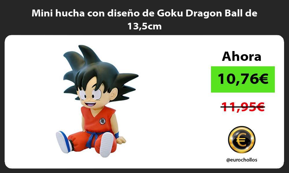 Mini hucha con diseño de Goku Dragon Ball de 135cm