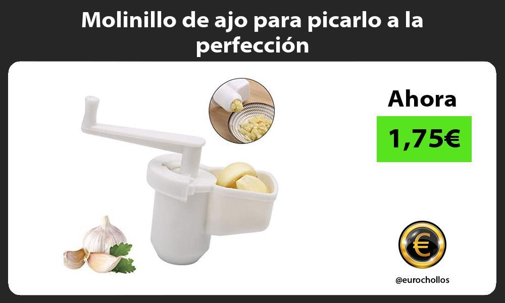 Molinillo de ajo para picarlo a la perfección