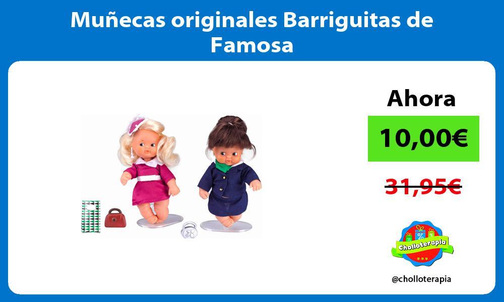 Muñecas originales Barriguitas de Famosa