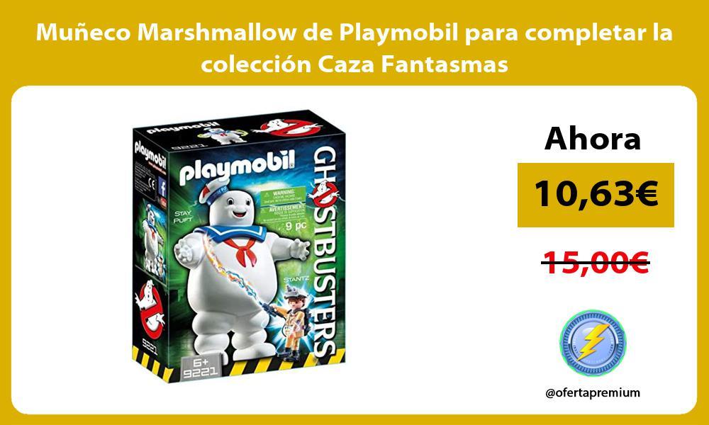 Muñeco Marshmallow de Playmobil para completar la colección Caza Fantasmas