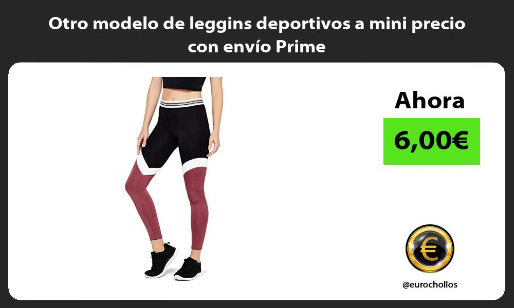 Otro modelo de leggins deportivos a mini precio con envío Prime