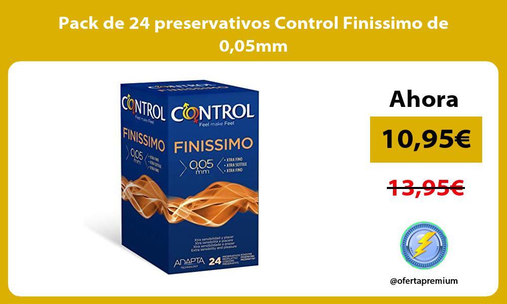 Pack de 24 preservativos Control Finissimo de 005mm