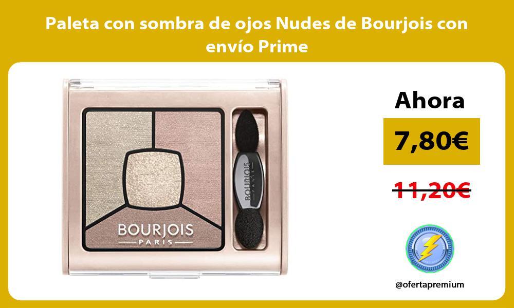 Paleta con sombra de ojos Nudes de Bourjois con envío Prime