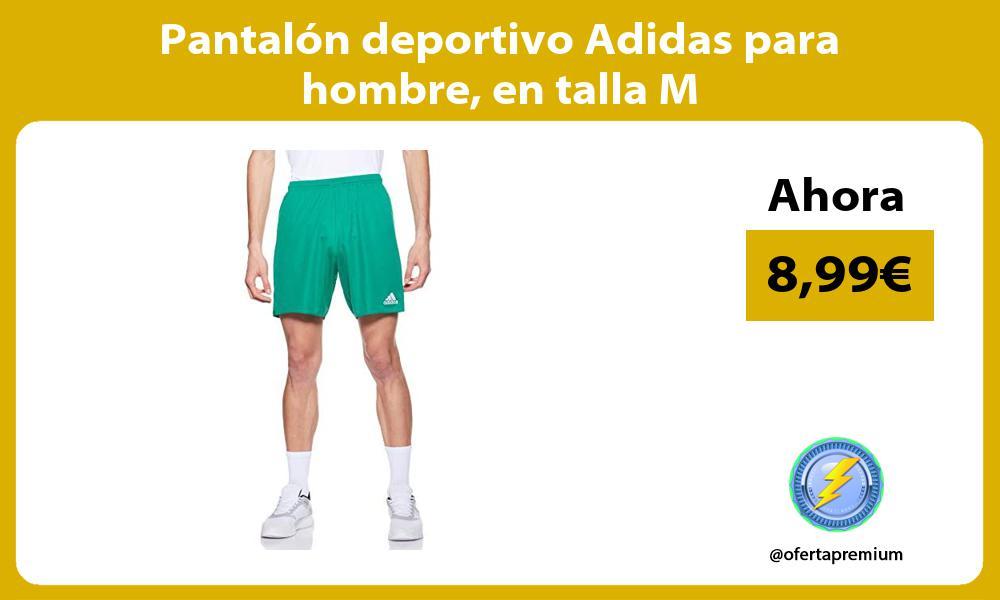 Pantalón deportivo Adidas para hombre en talla M