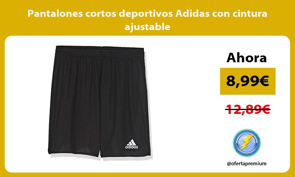 Pantalones cortos deportivos Adidas con cintura ajustable