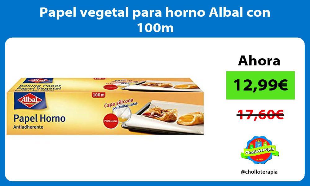 Papel vegetal para horno Albal con 100m