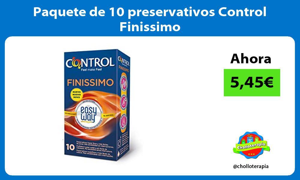 Paquete de 10 preservativos Control Finissimo