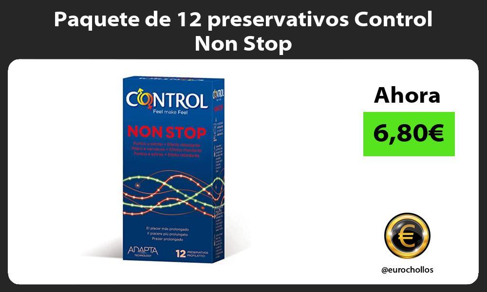 Paquete de 12 preservativos Control Non Stop