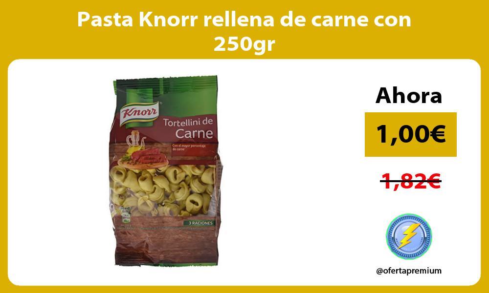 Pasta Knorr rellena de carne con 250gr