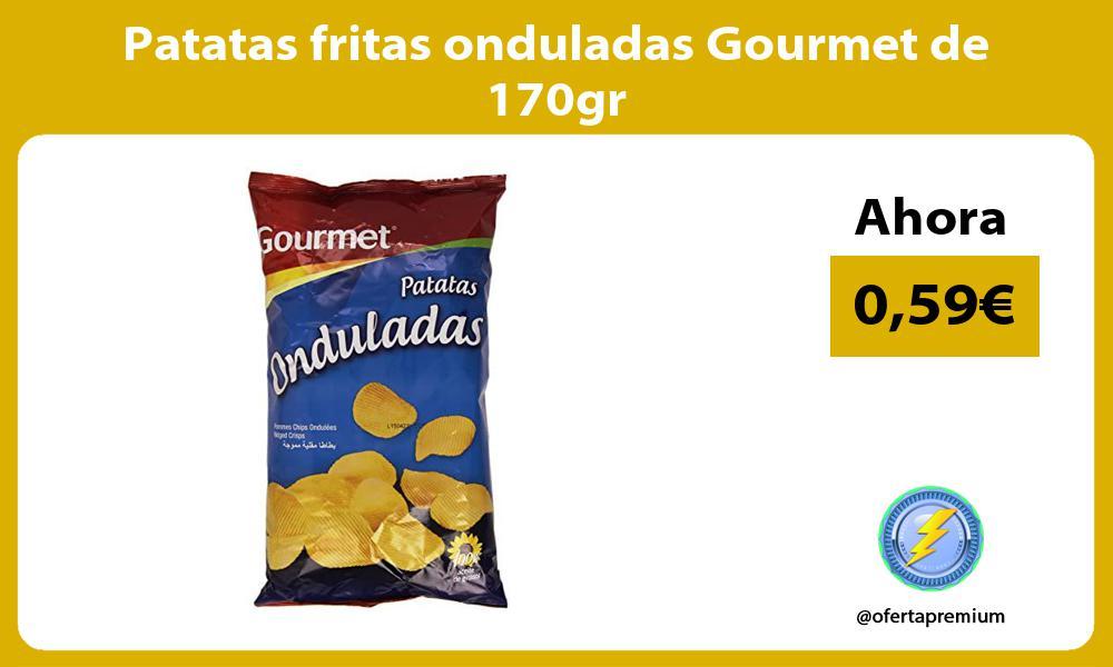 Patatas fritas onduladas Gourmet de 170gr