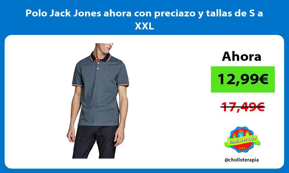 Polo Jack Jones ahora con preciazo y tallas de S a XXL