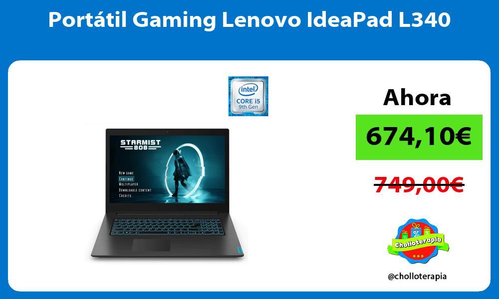 Portátil Gaming Lenovo IdeaPad L340
