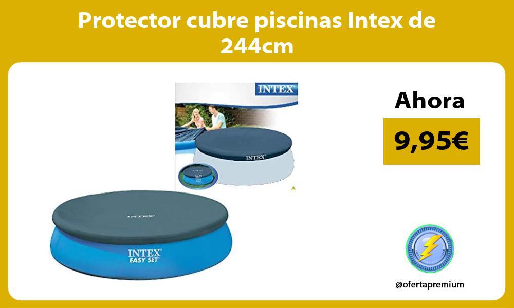 Protector cubre piscinas Intex de 244cm