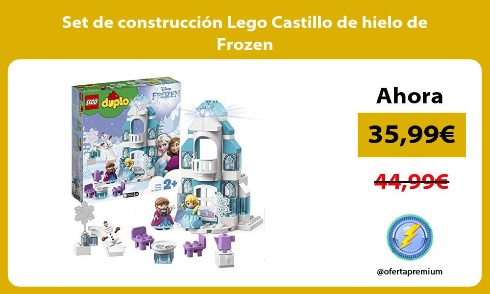 Set de construcción Lego Castillo de hielo de Frozen