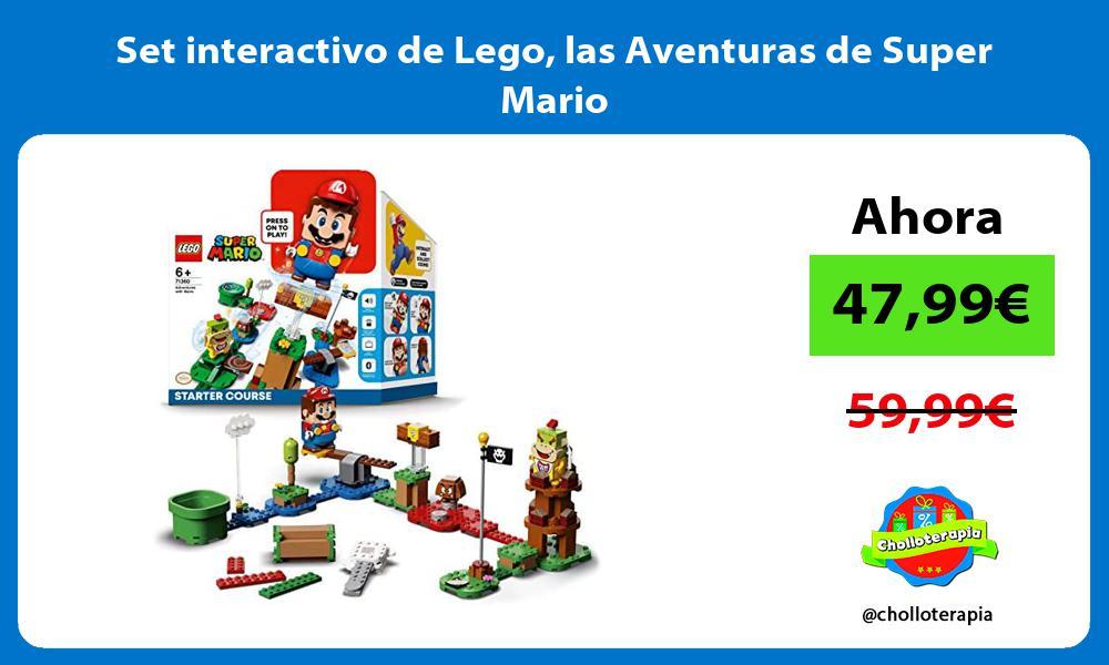 Set interactivo de Lego las Aventuras de Super Mario