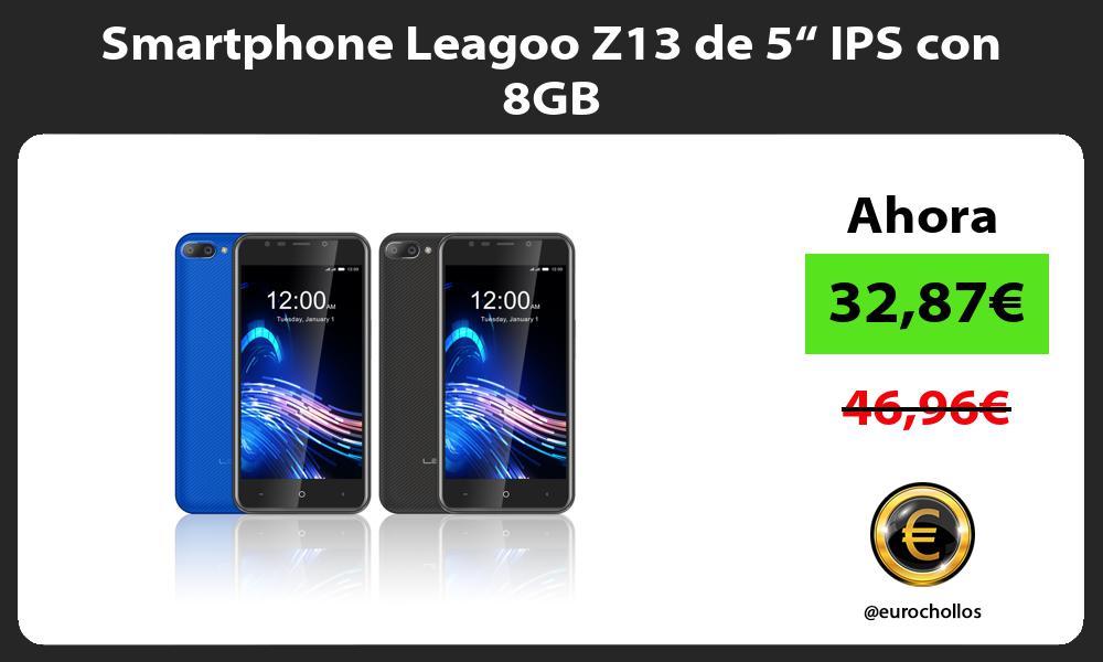 "Smartphone Leagoo Z13 de 5"" IPS con 8GB"