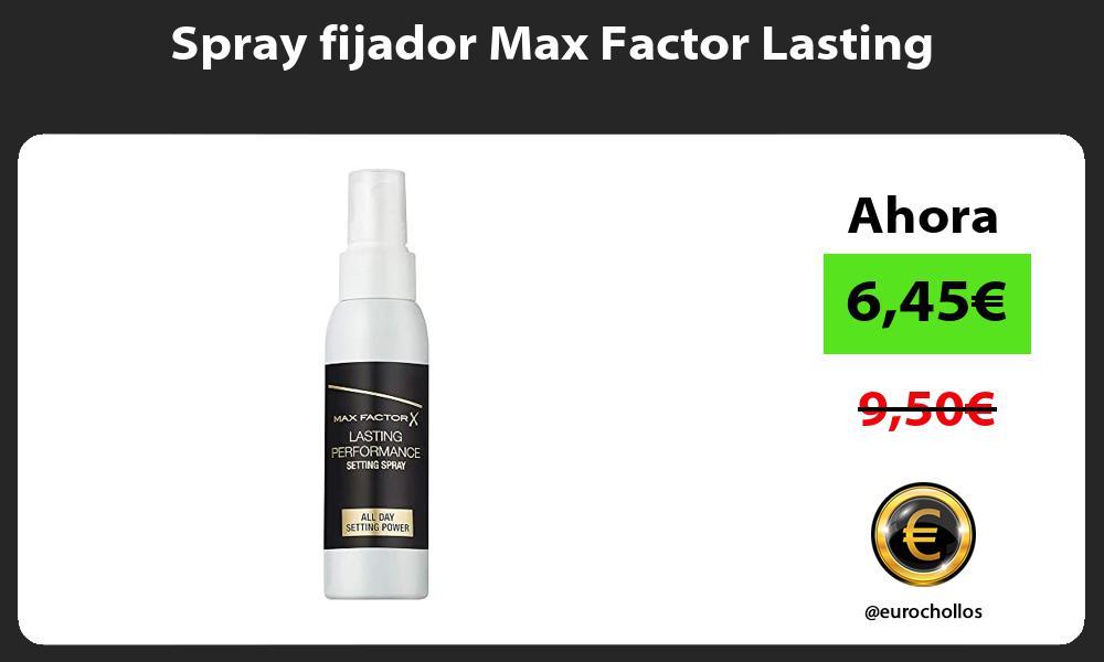 Spray fijador Max Factor Lasting