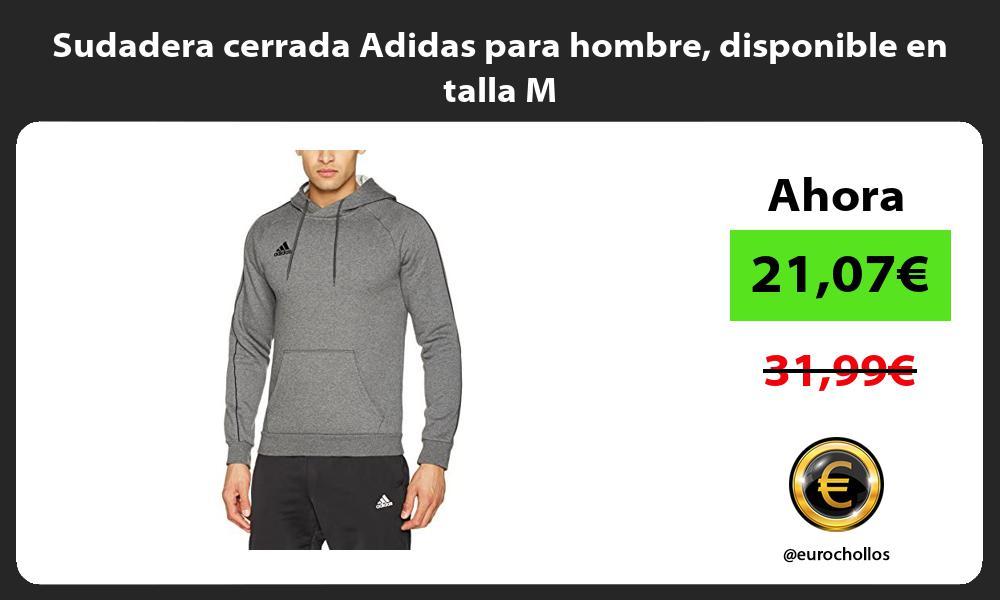 Sudadera cerrada Adidas para hombre disponible en talla M