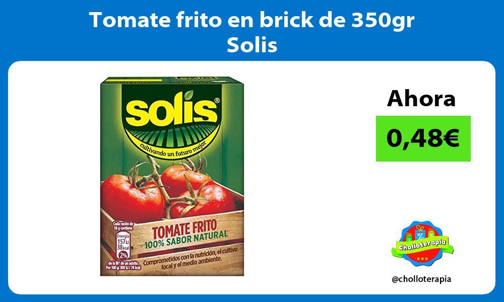 Tomate frito en brick de 350gr Solis