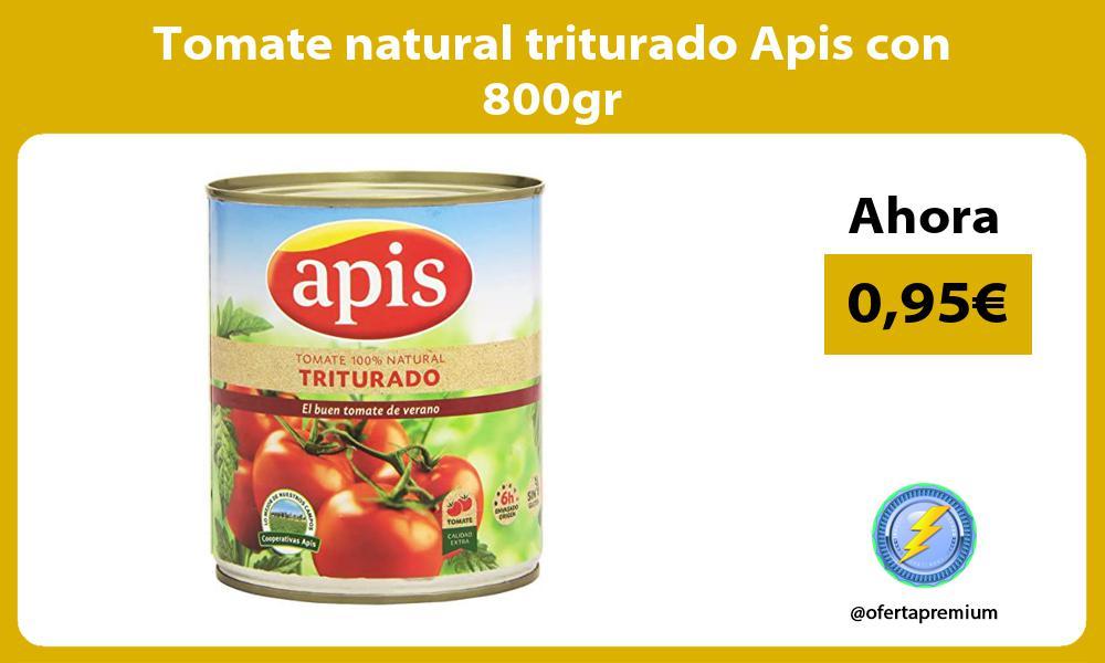 Tomate natural triturado Apis con 800gr