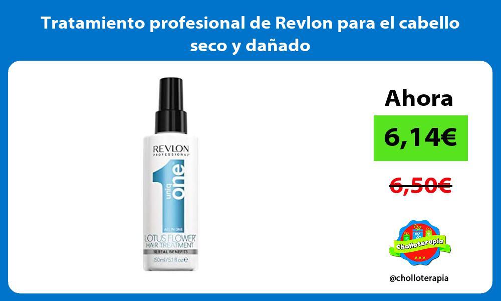 Tratamiento profesional de Revlon para el cabello seco y dañado