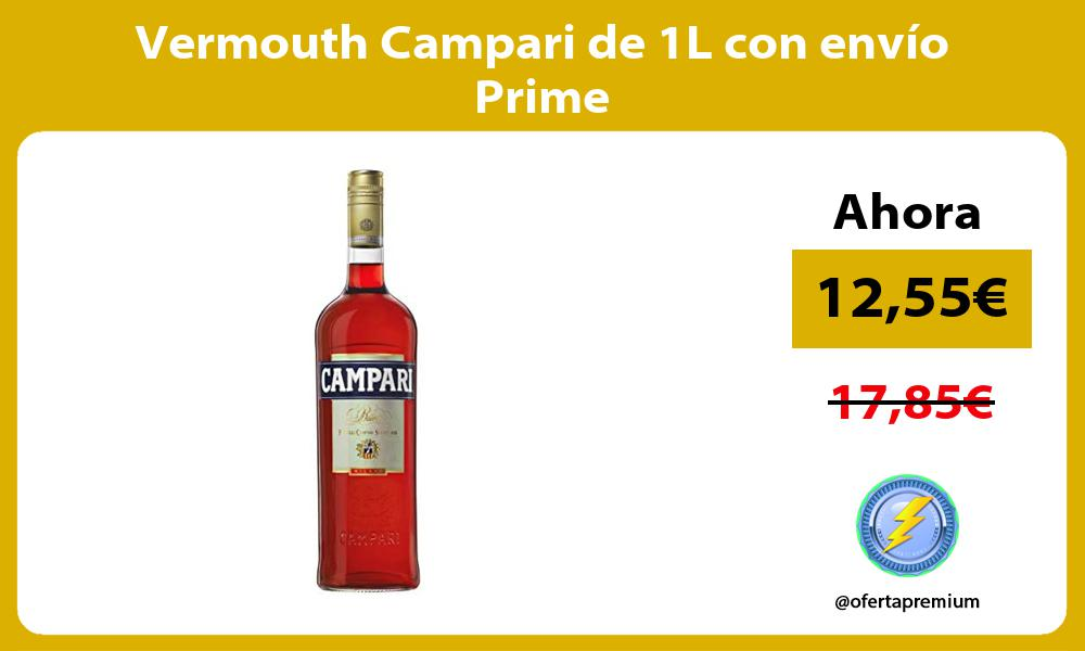 Vermouth Campari de 1L con envío Prime