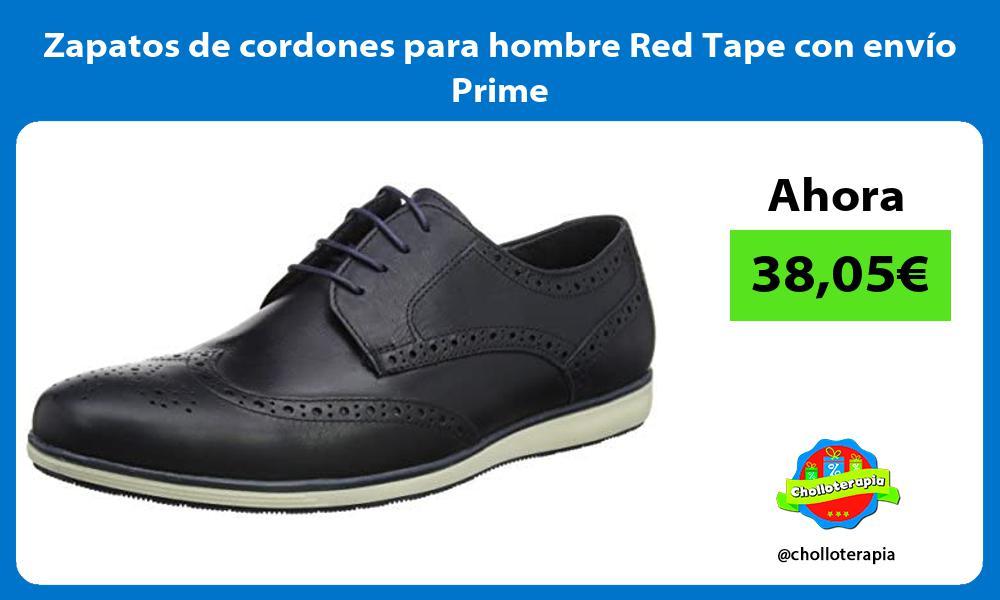 Zapatos de cordones para hombre Red Tape con envío Prime