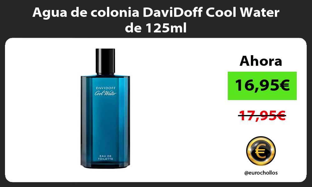 Agua de colonia DaviDoff Cool Water de 125ml