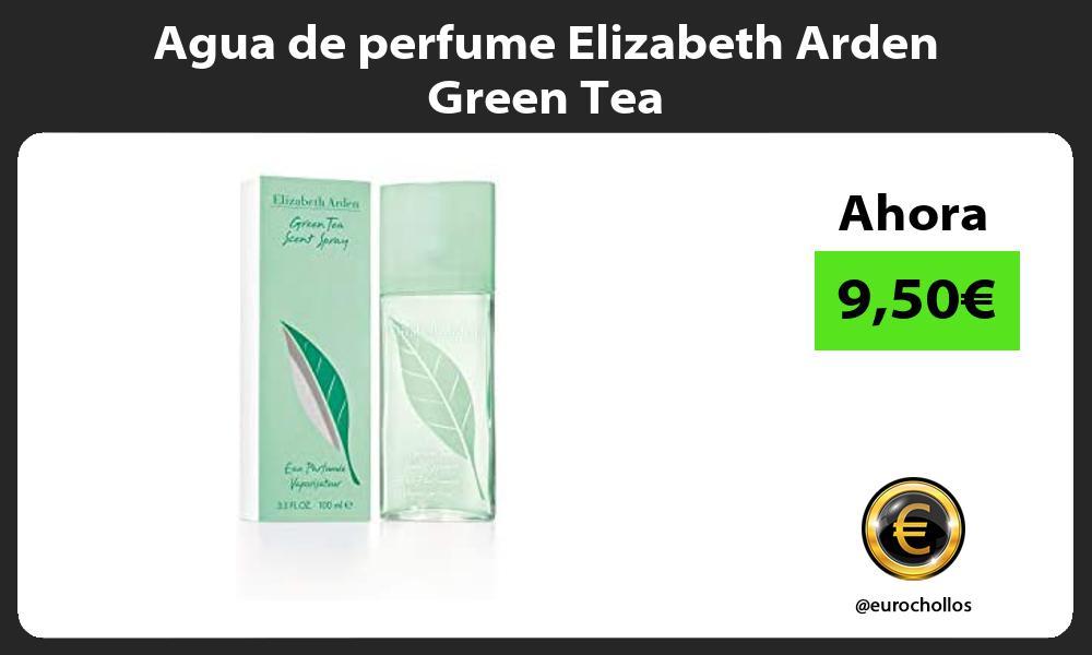 Agua de perfume Elizabeth Arden Green Tea