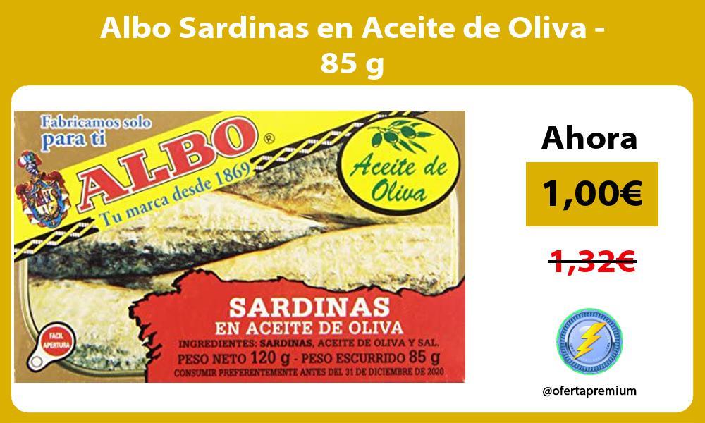 Albo Sardinas en Aceite de Oliva 85 g