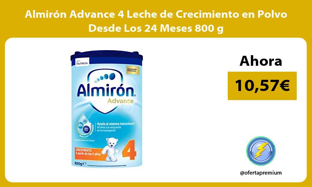 Almirón Advance 4 Leche de Crecimiento en Polvo Desde Los 24 Meses 800 g