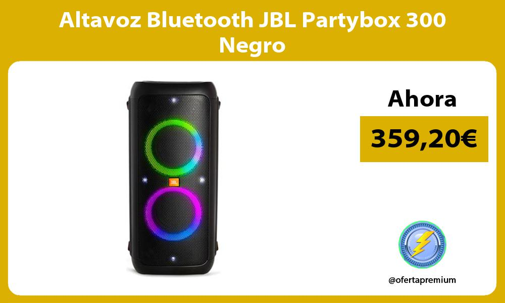 Altavoz Bluetooth JBL Partybox 300 Negro