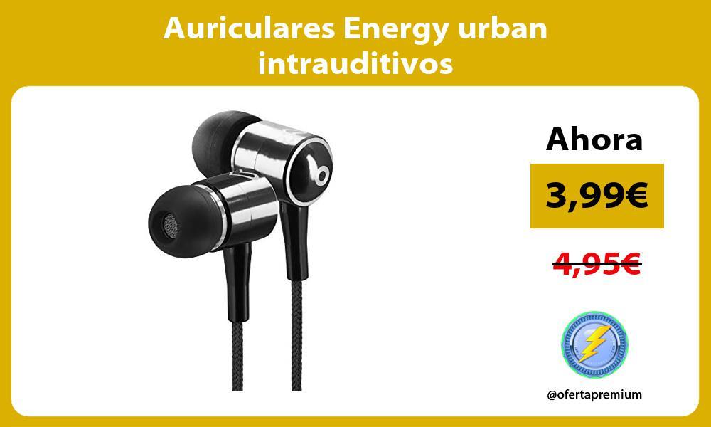 Auriculares Energy urban intrauditivos