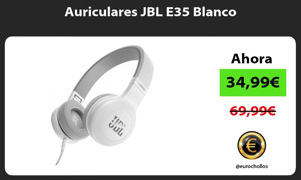 Auriculares JBL E35 Blanco