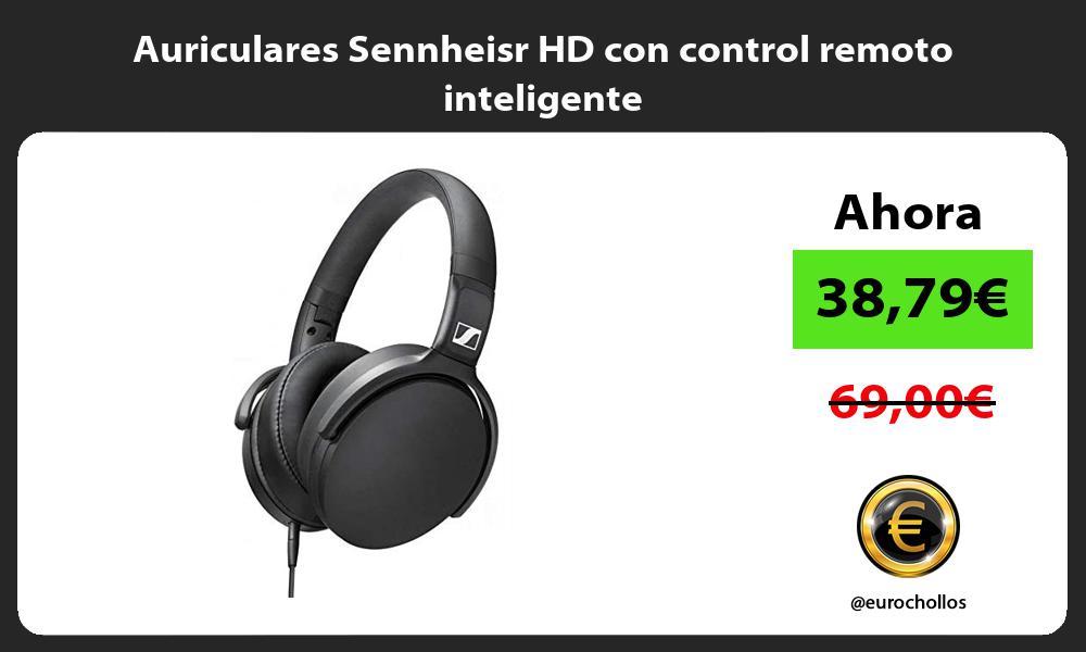 Auriculares Sennheisr HD con control remoto inteligente