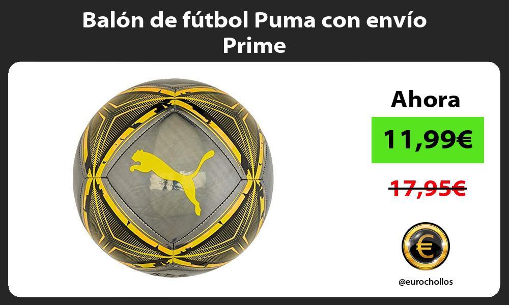 Balón de fútbol Puma con envío Prime