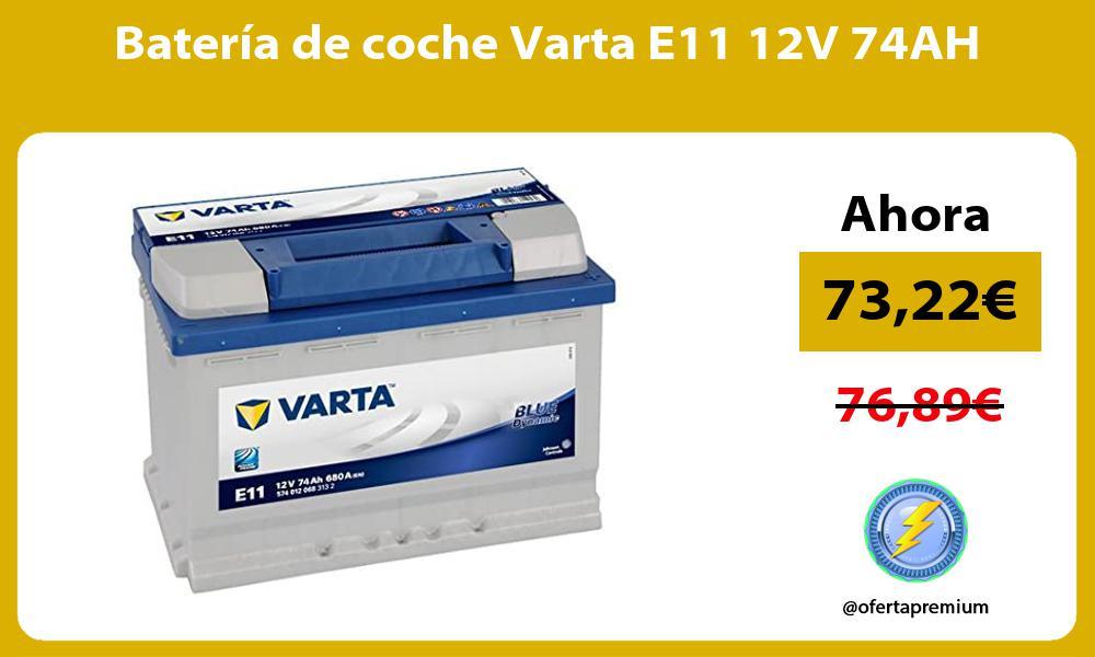Batería de coche Varta E11 12V 74AH