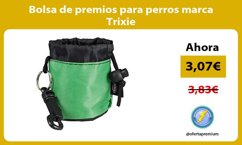 Bolsa de premios para perros marca Trixie