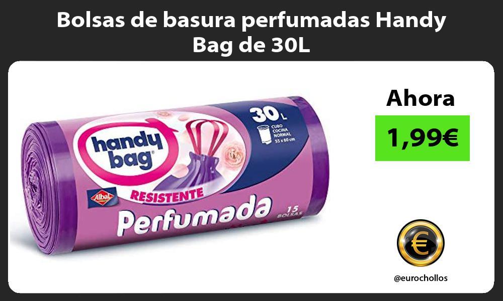 Bolsas de basura perfumadas Handy Bag de 30L