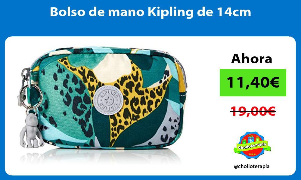 Bolso de mano Kipling de 14cm