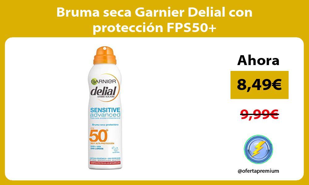 Bruma seca Garnier Delial con protección FPS50