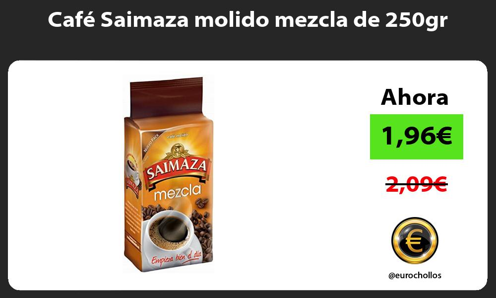 Café Saimaza molido mezcla de 250gr