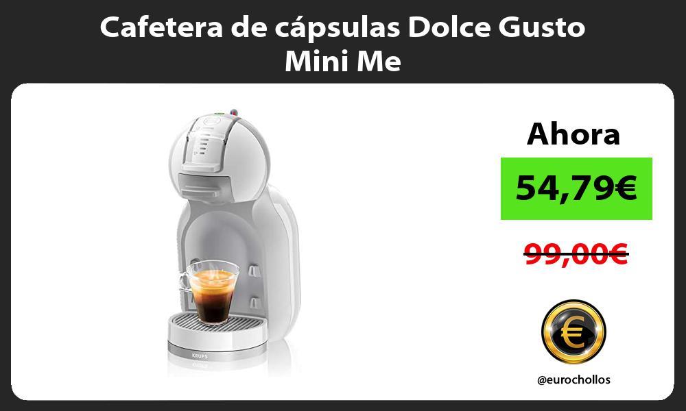Cafetera de cápsulas Dolce Gusto Mini Me