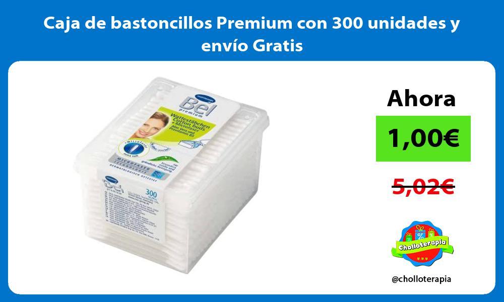 Caja de bastoncillos Premium con 300 unidades y envío Gratis