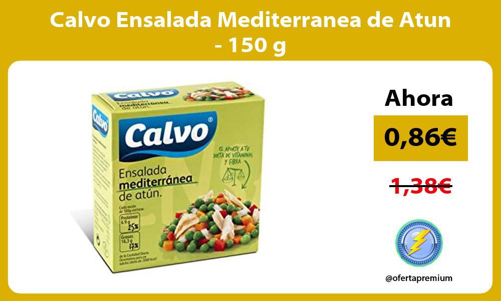 Calvo Ensalada Mediterranea de Atun 150 g