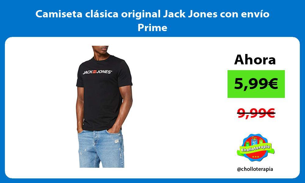 Camiseta clásica original Jack Jones con envío Prime