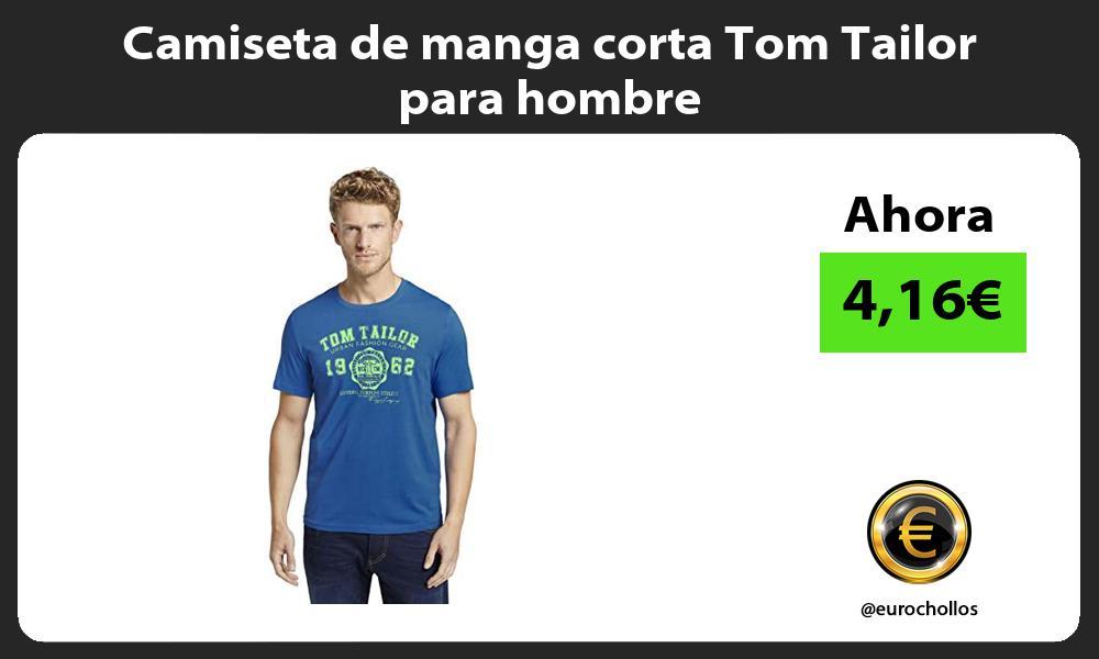 Camiseta de manga corta Tom Tailor para hombre