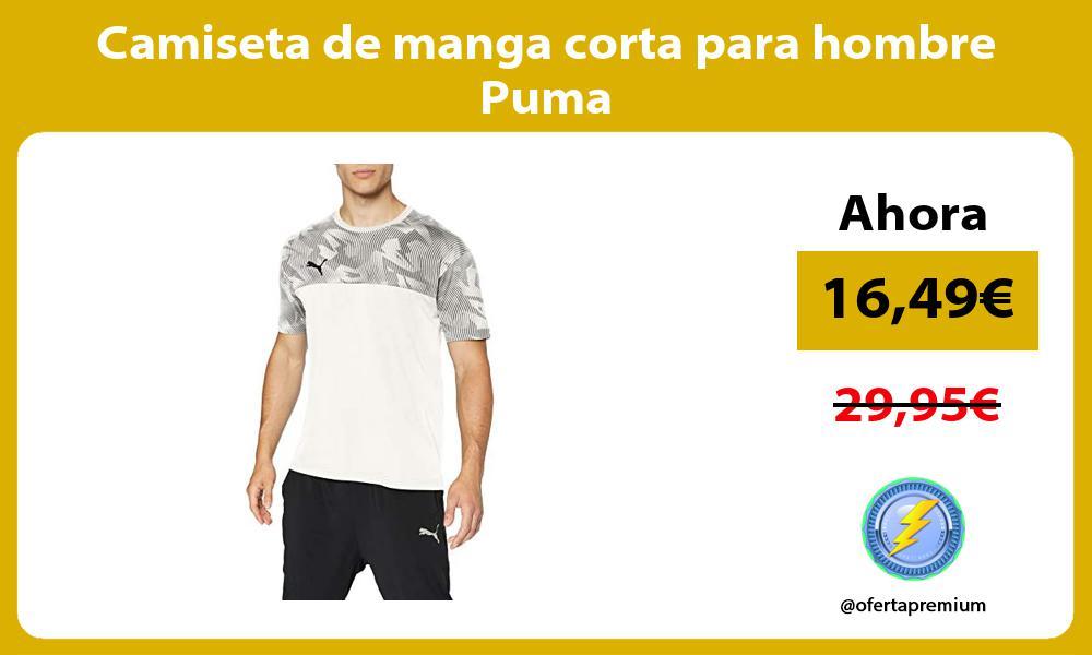 Camiseta de manga corta para hombre Puma