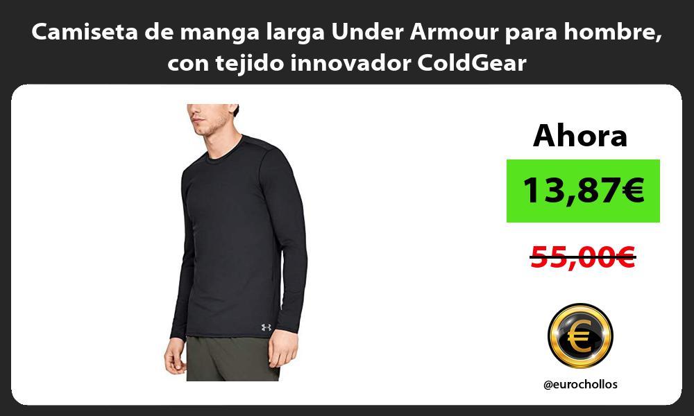 Camiseta de manga larga Under Armour para hombre con tejido innovador ColdGear